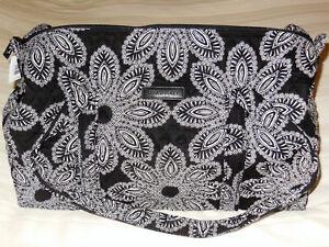 NWT Vera Bradley SMALL DUFFEL Travel Bag in BLANCO BOUQUET Carry–on 15827-G07