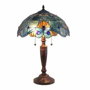 SALE !! Geometric Glass Lamp  Table Lamp  Table Stained Lamp  Stained Hypercube  Cube Lamp  Loft lamp  Glass Handmade