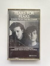 Songs from the Big Chair by Tears for Fears (Cassette, 1985, Mercury PolyGram)