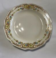 """VINTAGE Mount Clemens Pottery MILDRED PATTERN 10"""" Luncheon Plates"""