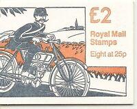 GB 1993 £2 FW1 Folded Booklet