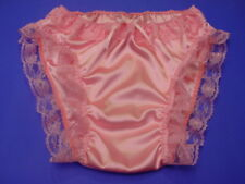 DBL Silky Satin Frilly Sissy Panties CHOICE of 7 Colors