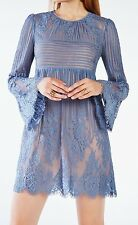 New with tag $338 BCBG Max Azria Luann Floral Lace B1394 Dress Sz M