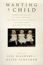 Wanting a Child (1998, Hardcover)