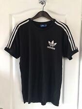 Camiseta De Adidas Originals Para Hombre Grande L Negro