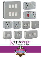 METAL CLAD Electrical Fittings Socket and Switches Industrial Garage Workshop
