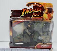 Indiana Jones Soldado Alemán con motocicleta Ultima Cruzada figura Misc NUEVO