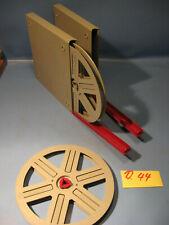 8 mm Film Leerspule eumig mit Adapter,Filmdosen für 120 Meter.Nr.D 44.Film Reels