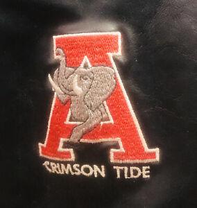 Vintage University Of Alabama Titleist Black Leather Golf Bag-Barely Used