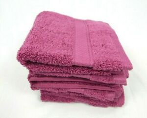 """Cannon Orchid Egyptian Cotton 6-Pack Washcloths Set, 13""""x13"""""""