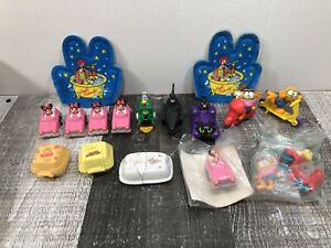 Vintage 1980s McDonalds Happy Meal Toy Lot - Disney Batman Garfield Transformer