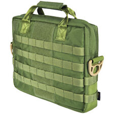 "FLYYE MID NOTEBOOK BAG 15"" 17"" LAPTOP CASE SHOULDER PACK MOLLE SYSTEM OLIVE DRAB"