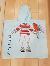 Sainsbury Pirate Hooded Towel Cover Up - 100% cotton - Combined P&P Offered