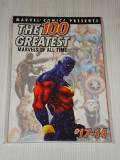 MARVEL COMIC PRESENTS 100 GREATEST ALL TIME #17-14 GRAPHIC NOVEL