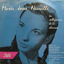 """MARIE-JOSEE NEUVILLE: LP 25 CM """"LA COLLEGIENNE DE LA CHANSON"""""""
