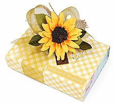 Sizzix Thinlits Sunflower 7pk #658417 Retail $19.99 by Susan Tierney Cockburn