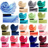 CO_ BU_ Women Soft Scarf Pashmina Shawl Wrap Long Large Stole Neck Warm Beamy