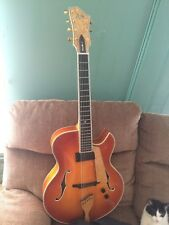 DALE UNGER AMERICAN ARCHTOP 7 STRING GUITAR CUSTOM MADE SOLID WOOD
