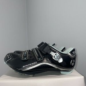 Bontrager Womens Cycling Shoes Solstice Inform Bicycle Racing Black Size 8.5