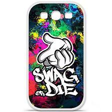 Coque housse étui tpu gel motif swag or die Samsung Galaxy S3 i9300