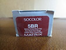 Matrix SOCOLOR Professional Permanent Hair Color3 oz 5BR Medium Brown Brown Red