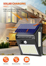100LED solar light waterproof solar motion sensor light outdoor PRI garden light