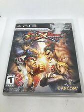 Street Fighter X Tekken (Sony PlayStation 3, 2012) Used
