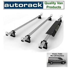 Roof Rack for Renault Traffic 2014 onwards current van 3 Bars Autorack WorkReady