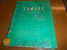 1975-1976 Yamaha Motorcycle Service Bulletins