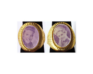 1960's Elvis Presley Purple Gumball Prize Flicker Ring