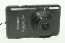 Canon PowerShot SD1400 IS 14.1MP Digital Camera - Black, with bag