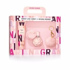 Ariana Grande Limited Edition Sweet Like Candy Fragrance Gift Set for Women, 3pc