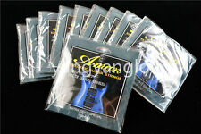 10 Sets of Aman Electric Guitar Strings 1st-6th Steel Strings 009 Extra Light