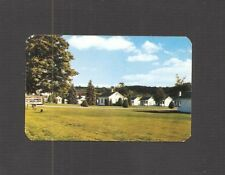 BUSINESS CARD:  BROWN'S COTTAGES - MOTEL - CAZENOVIA, NEW YORK - c.1950s