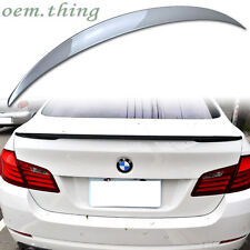 STOCK USA Painted 550i M5 535i BMW F10 4D Sedan P Type Trunk Spoiler #354