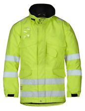 Snickers 1823 High-Vis Winter Long Jacket Class 3 SnickersDirect Yellow Pre