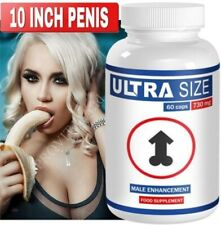 ULTRA SIZE - 10 INCH PENIS - Penis Enlargement Pills - 60 Pills STRONG FORMULA
