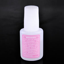 New Nail Art Glue With Brush On Strong Adhesive Fake Acrylic False Tip Lady Girl