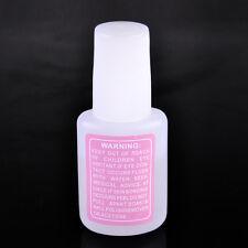 New Nail Art Glue With Brush On Strong Adhesive Fake Acrylic False Tip Lady Girl