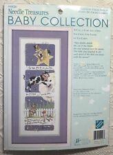 Hey Diddle Nursery Rhyme Cross Stitch Kit Cat Cow Dog JCA Needle Treasures New