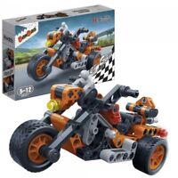 Kinder Geschenk Konstruktion Spielzeug Bausteine Baukästen Motorrad Bullet 6961