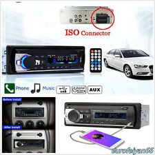 Autos In-Dash 1-Din Bluetooth V2.0 Audio Stereo Head Unit MP3 Player AUX FM USB