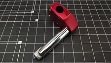 "New Nitto MX7 Old School BMX 1"" Stem RED Anodized Fits Redline SE Mongoose"
