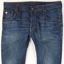 Mens G-Star ARC 3D SLIM Straight Blue Jeans W36 L32