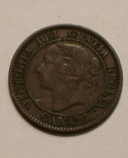 1858 Large One Cent of Canada FULL DETAIL