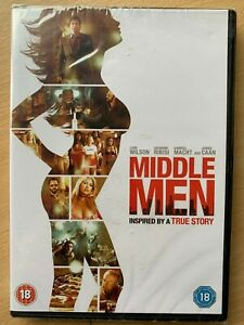Middle Men DVD 2010 True Life Crime Comedy with Luke Wilson and James Caan