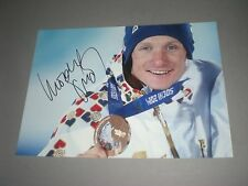 Ondrej Moravec  Biathlon signiert signed autograph Autogramm auf 20x28 Foto