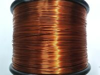 "Essex Magnet Wire, 14 AWG Gauge, 0.0583"" 1LB 100 ft Enameled Copper Coil Winding"