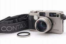 N.MINT Contax G2 Rangefinder Camera Body, Planar 45mm Lens, Strap from Japan#t04
