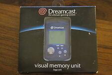 VISUAL MEMORY UNIT  VMU   BLEU        -----   accessoire pour DREAMCAST